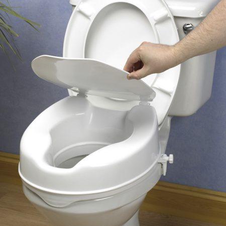 Elevadores y reposabrazos WC